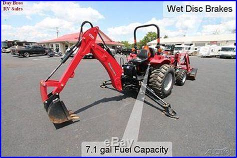 mahindra backhoe attachment for sale 2013 mahindra diesel tractor 3016 backhoe hydrostatic