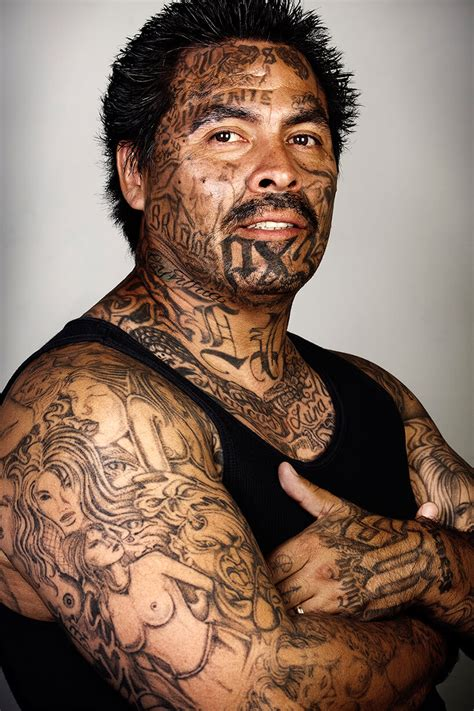 ex gang members tattoos removed in powerful photo series