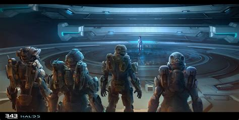 the art of halo halo 5 guardians concept art by sam brown concept art world