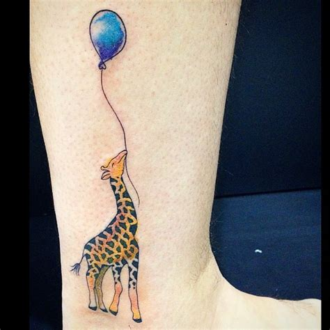 giraffe tattoo 50 giraffe meaning and designs