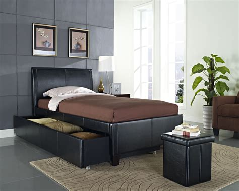 trundle beds standard new york black upholstered trundle bed