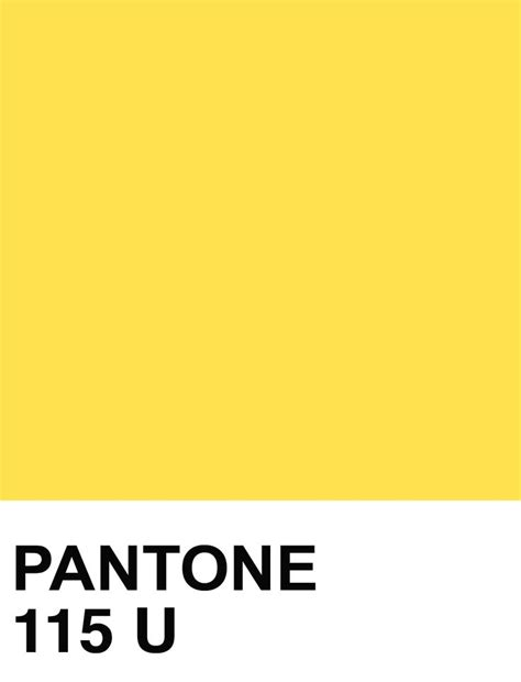 what is pantone pantone 115 solid uncoated colours pinterest