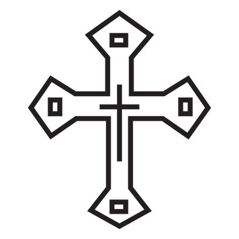 cruz tattoo png cruz romana cat 243 lica descargar png svg transparente