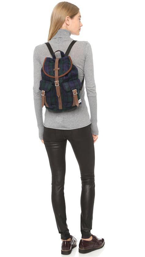 Herschel Dawson Backpack herschel supply co dawson backpack black plaid in