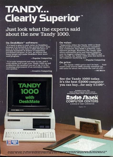 Tandy Lol by Radio Shack Flyer From 1991 X Post From R Pics Nostalgia