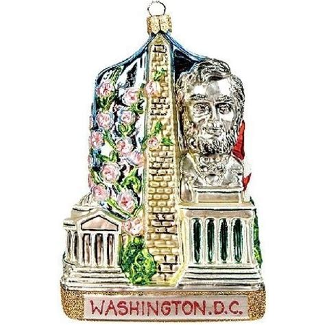 washington dc christmas ornaments