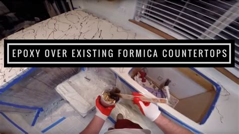 Epoxy Paint For Laminate Countertops by How To Applying Metallic Epoxy Existing Formica Countertops Leggari Products