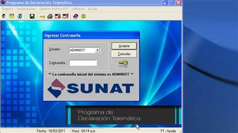 pdt sunat actualizar pdt version no se encuentra vigente sunat aprueban nueva versi 243 n del pdt planilla electr 243 nica