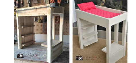 american girl loft bed diy loft bed for american girl dolls