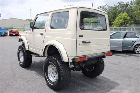 suzuki jimny 1991 1991 suzuki jimny 4x4