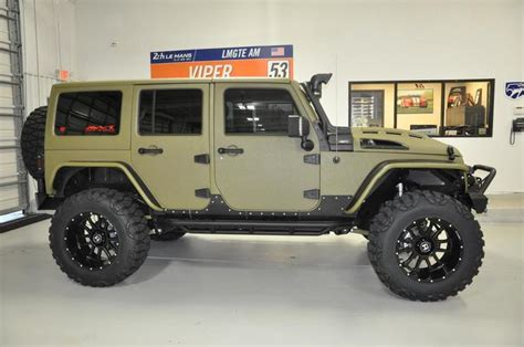 tactical jeep 2017 jeep wrangler unlimited kevlar army tactical sport tx