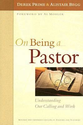 pastor your calling books on being a pastor understanding our calling and work by
