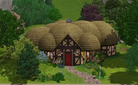 Tiny House For Backyard mod the sims lotr buckland hobbit home