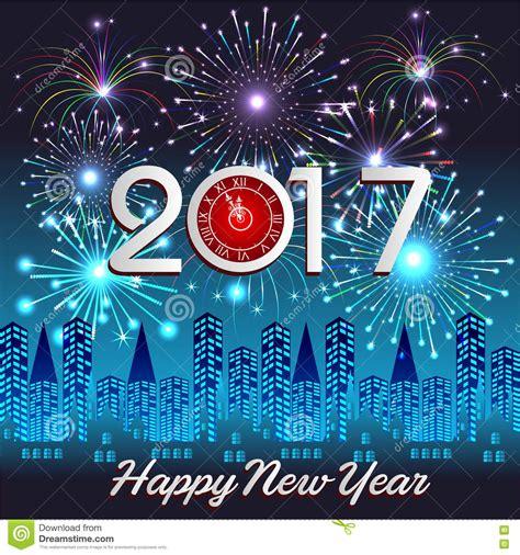 new year 2017 toto bonne 233 e 2017 avec le fond de feux d artifice