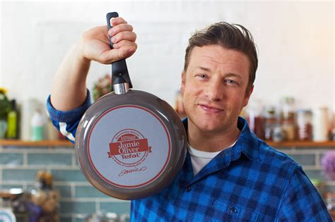 Jamie Oliver Kitchen Knives jamie oliver by tefal 26 cm anniversary frying pan with