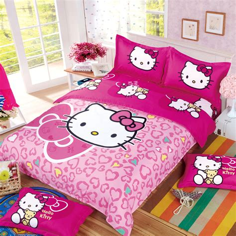 hello kitty full size comforter set hello kitty polyester cotton comforter bed set family