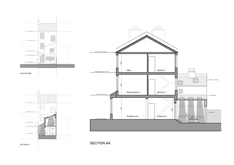 extension section architect designed kitchen extension clapham north lambeth sw4