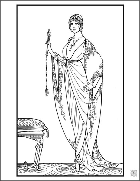 Fashion Designs 1912 1913 Coloring Book