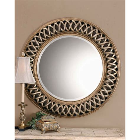 mirrors decor entwined mirror uttermost mirrors home decor