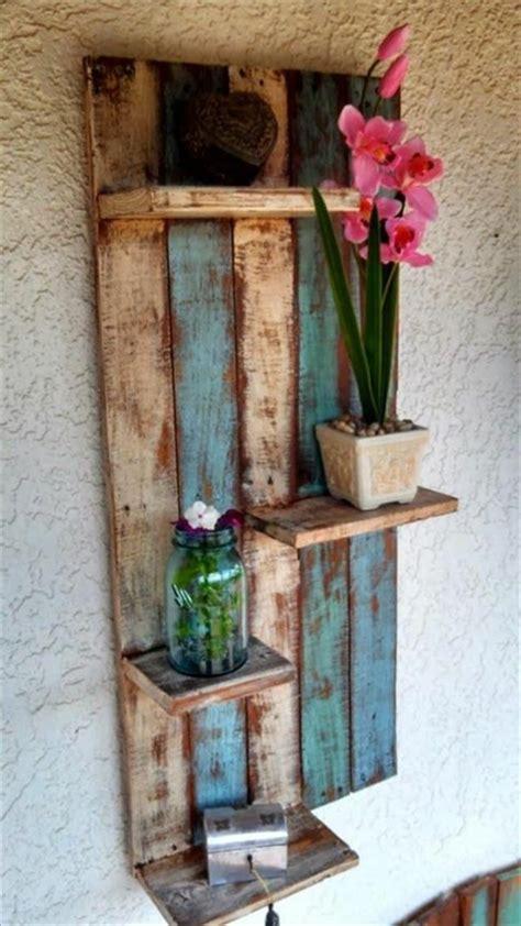 Frühlingsdeko Im Garten by Etagere Aus Holz Selber Machen Bvrao