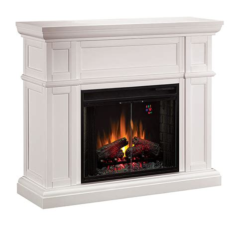 wide electric fireplace classic artesian collection 52 wide electric
