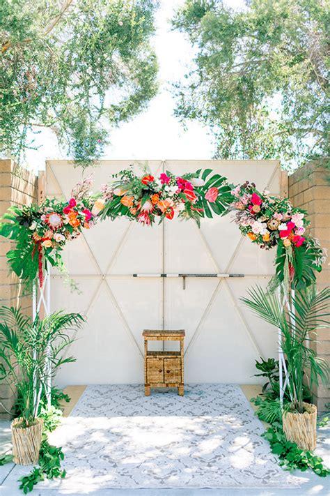 tropical popical 8 bright ideas for a tropicana wedding confetti ie