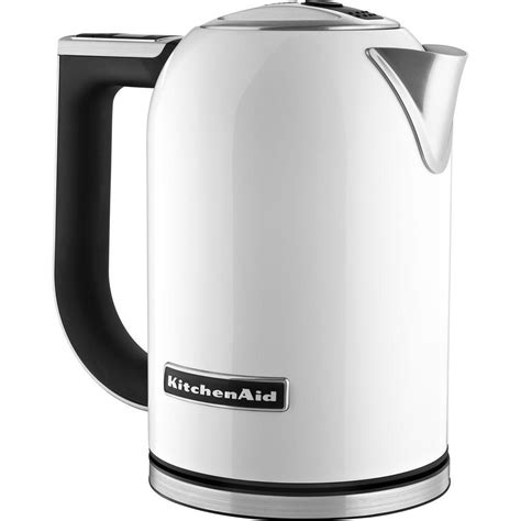 Marco Electric Kettle White 1 7 L kitchenaid 1 7 l electric kettle kek1722wh the home depot