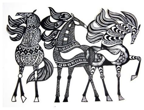 cutting horse coloring page horse art art that inspires me pinterest art work
