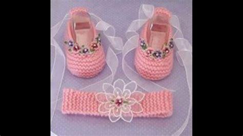 como hacer zapatitos tejidos para bebes youtube como tejer botitas y zapatitos para bebes tejidos a