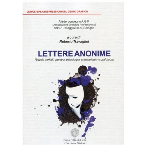 lettere anonime lettere anonime