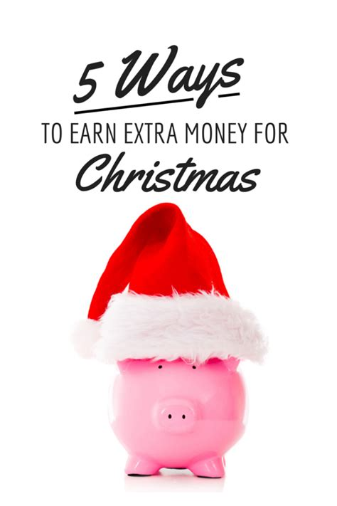 How To Make Extra Money Online Without Paying Anything - 5 ways to earn extra money for christmas a grande life