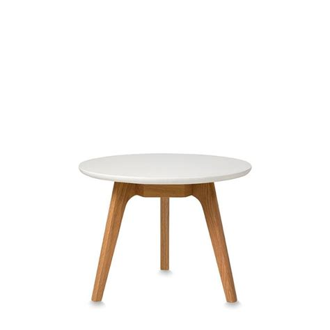 Small Coffee Table American Oak Small Coffee Table With White Lacquered Top By Citta Design Citta Design Study