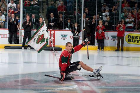 minnesota wild nhl hockey disabled hockey