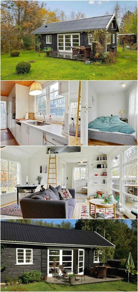 Search For In Denmark 463sf Tiny House With All White Interior For Sale In Denmark We Search The Wor