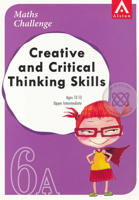 Top Maths Textbook 6a maths challenge creative and critical thinking skills 6a