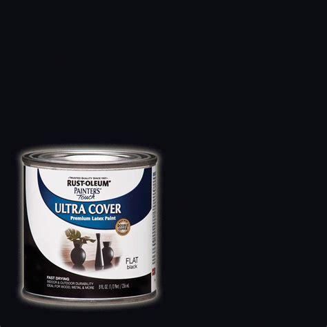 rust oleum painter s touch 8 oz flat black general