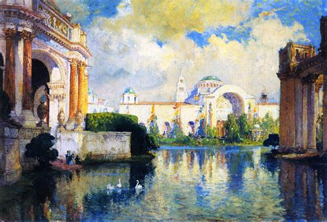 building painting panama pacific exposition building painting acolin
