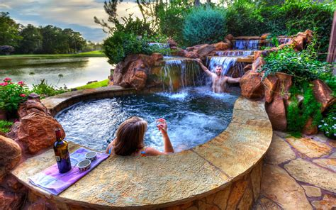 Backyard Paradise Ideas Backyard Landscaping Paradise 30 Spectacular