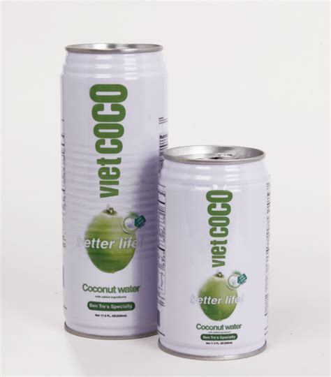 Canned Coconut Milk Shelf by Coconut Water Products Coconut Water Supplier