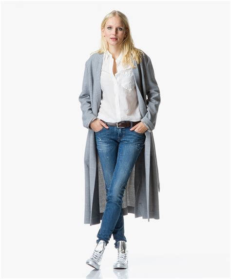 Jas Blazer Exo Grey shop the look modern favorites perfectly basics