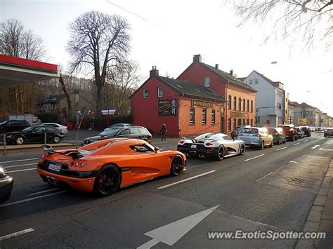 koenigsegg germany koenigsegg ccxr spotted in wuppertal germany on 03 16 2015