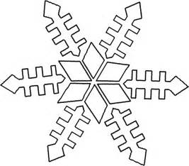 Snowflake coloring pages simple snowflake coloring pages and free