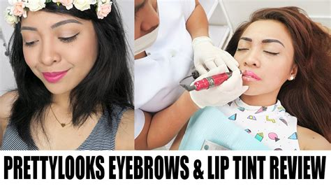 lip tint tattoo pretty looks permanent makeup w subtitles eyebrows lip tint