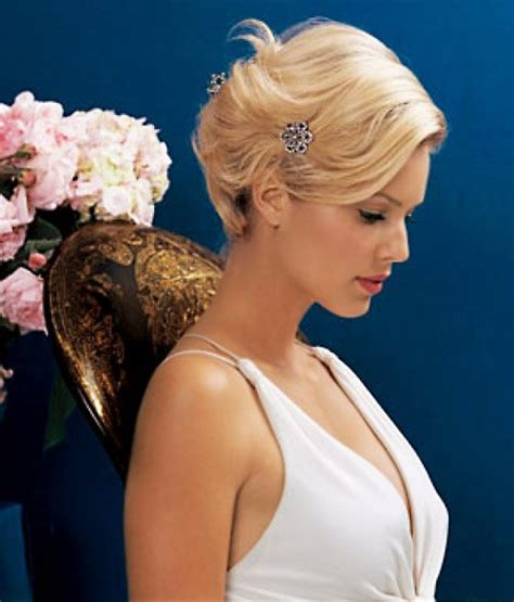 updos for shorter hair pintrest ideal wedding hairstyles and makeup ideas for blondes