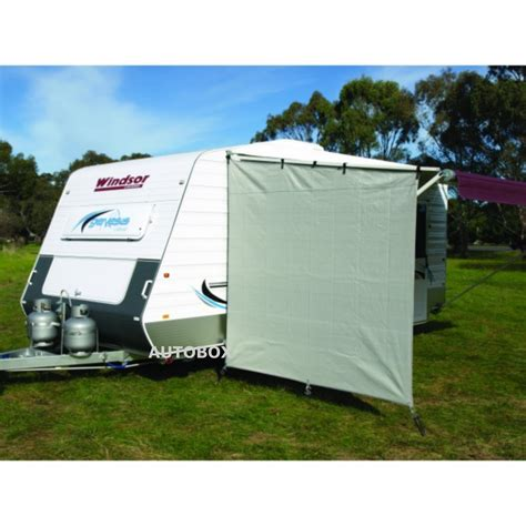 Shade Cloth Awnings For Caravans by Camec Caravan Privacy Screen End Wall 2100 X 2050 Sun