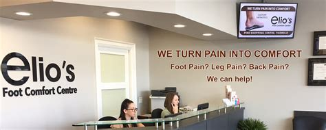 comfort centre foot pain solution niagara foot assessments custom