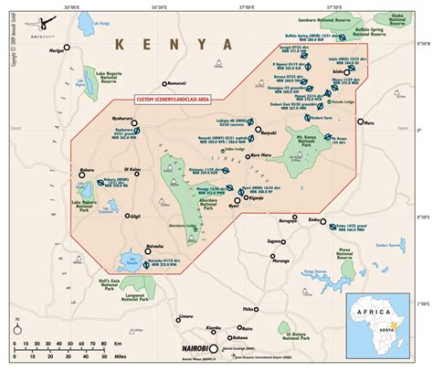 aaa printable directions aerosoft gmbh african airstrip adventures map portfolio