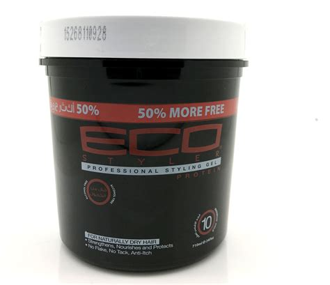 styling gel dry look eco styler professional styling gel protein black alcohol