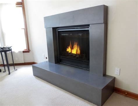 Concrete Fireplace Mantels 17 Best Images About Fireplace On Family Room