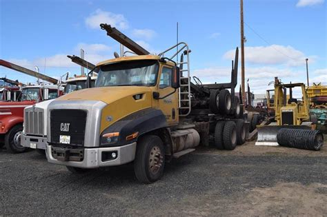 truck redmond oregon 2013 caterpillar ct660 logging truck for sale 184 500